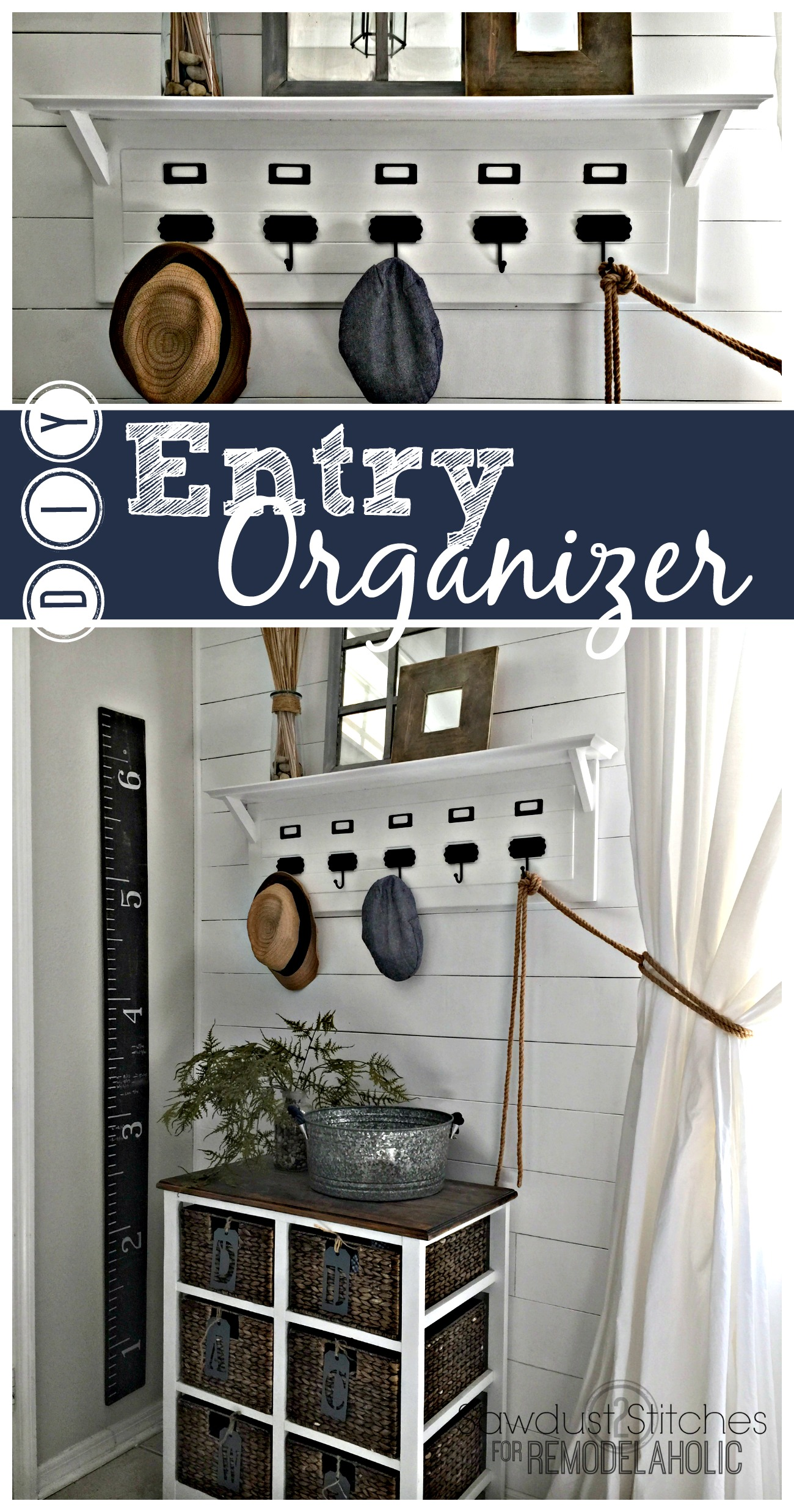 Merveilleux Build An Easy And Inexpensive Entry Organizer, Inspired By Pottery Barn, To  Keep Your
