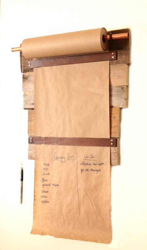 Functional Wall Decor, Pallet Wood Memo Board For Menu, The How To Home
