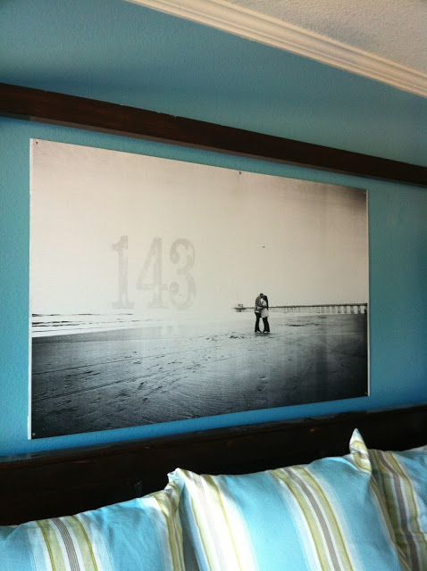 how to mount an engineer print on hardboard for large wall art (Joy's Hope)