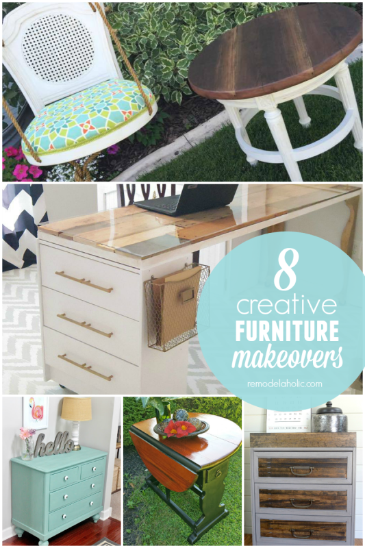 Creative Furniture Makeovers