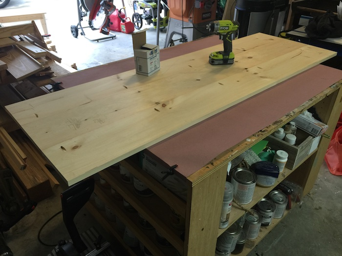 DIY Printmakers Media Console Plans - Step 1