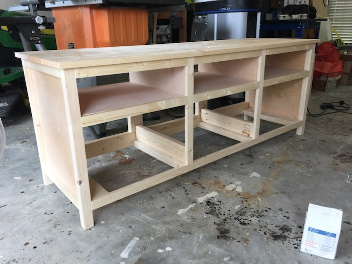 DIY Printmakers Media Console Plans - Step 10