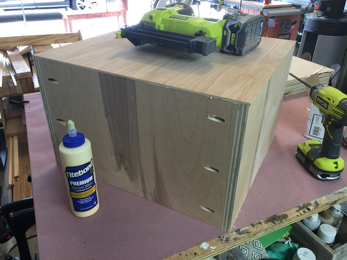 DIY Printmakers Media Console Plans - Step 11