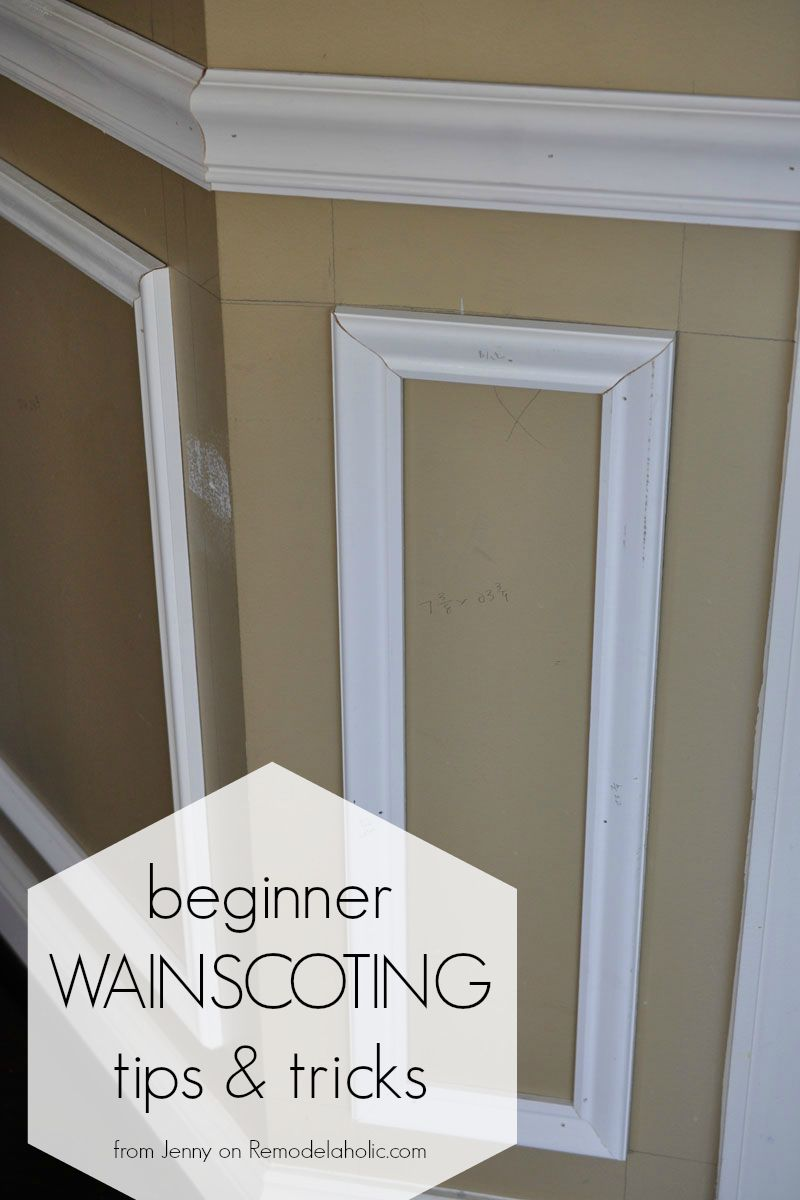 Installing Trim Wainscoting, Such As A Chair Rail Or Shadow Box Molding,  Instantly Updates