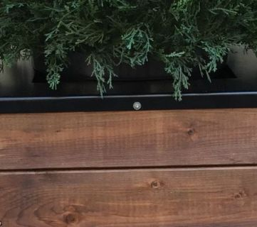 Build a Tall Wooden Planter |