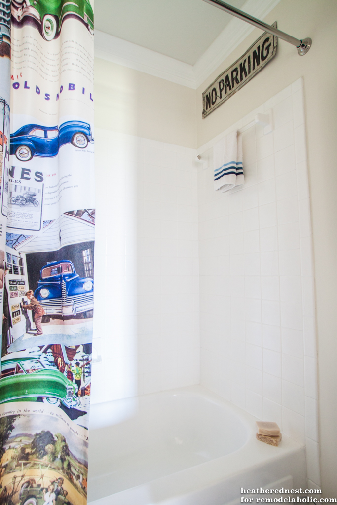 Remodelaholic How To Update A Tile Shower Tub In A Weekend - 4x4 bathtub