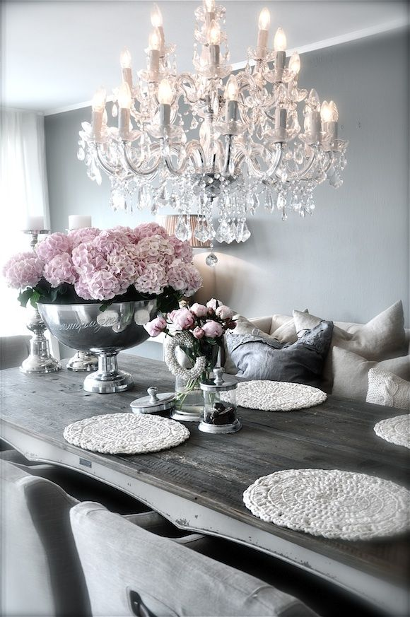 rustic chic dining room Remodelaholic Decorating