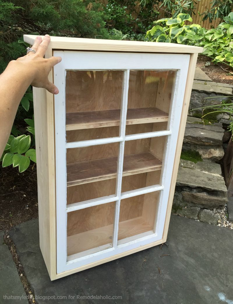 Beau Window Cabinet Construction