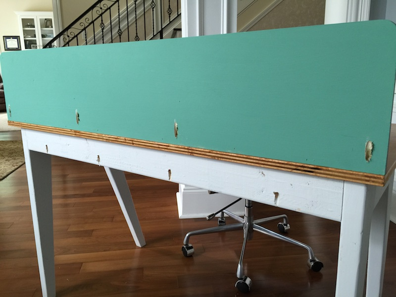 DIY Modern Lindsay Desk - Step 7
