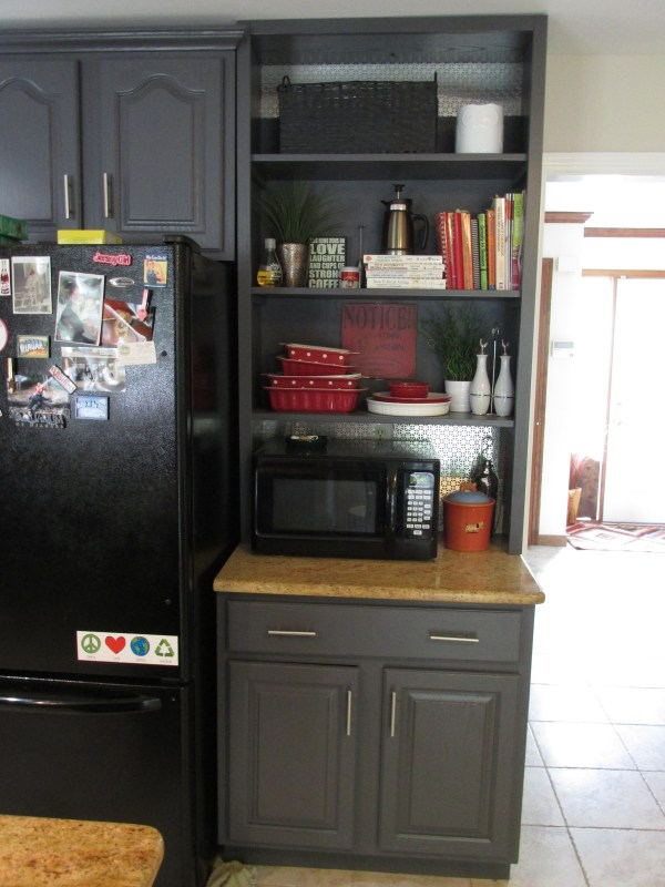 LeeAnn painted kitchen cabinets process review 3
