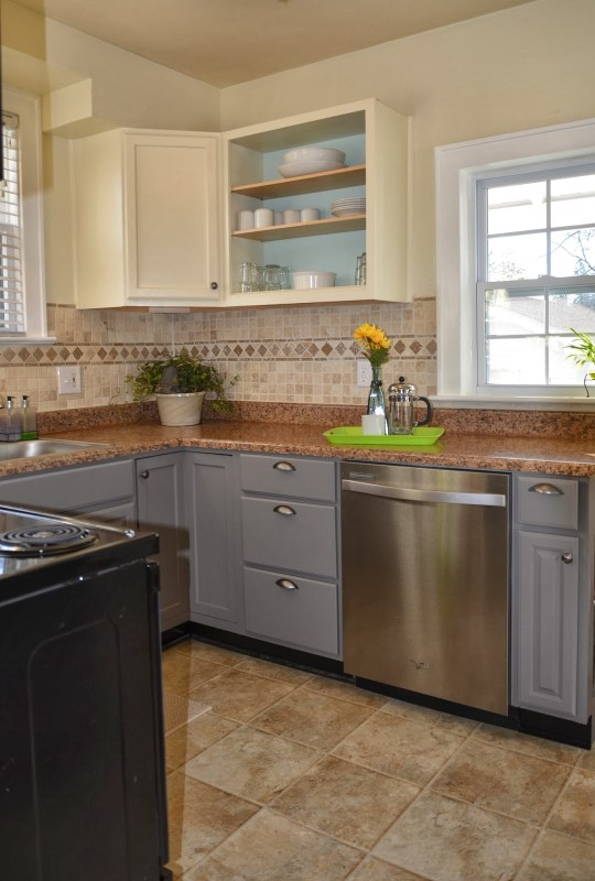 Nan painted kitchen cabinet review