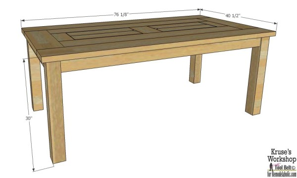 Free plans for the perfect table for your patio, it has built in ice boxes to keep your drinks cool!