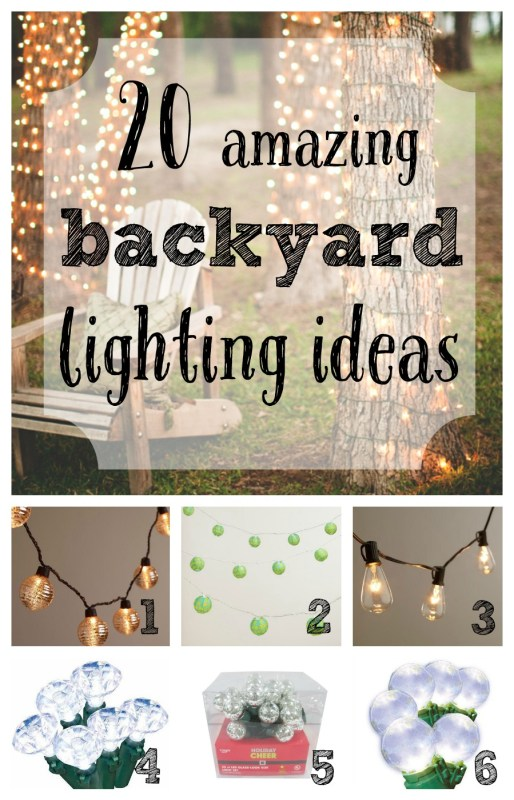 20 amazing backyard lighting ideas