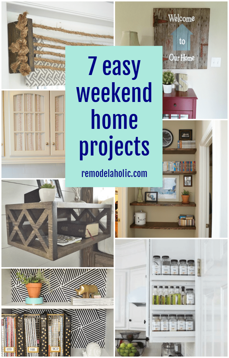 remodelaholic 7 easy weekend home projects october