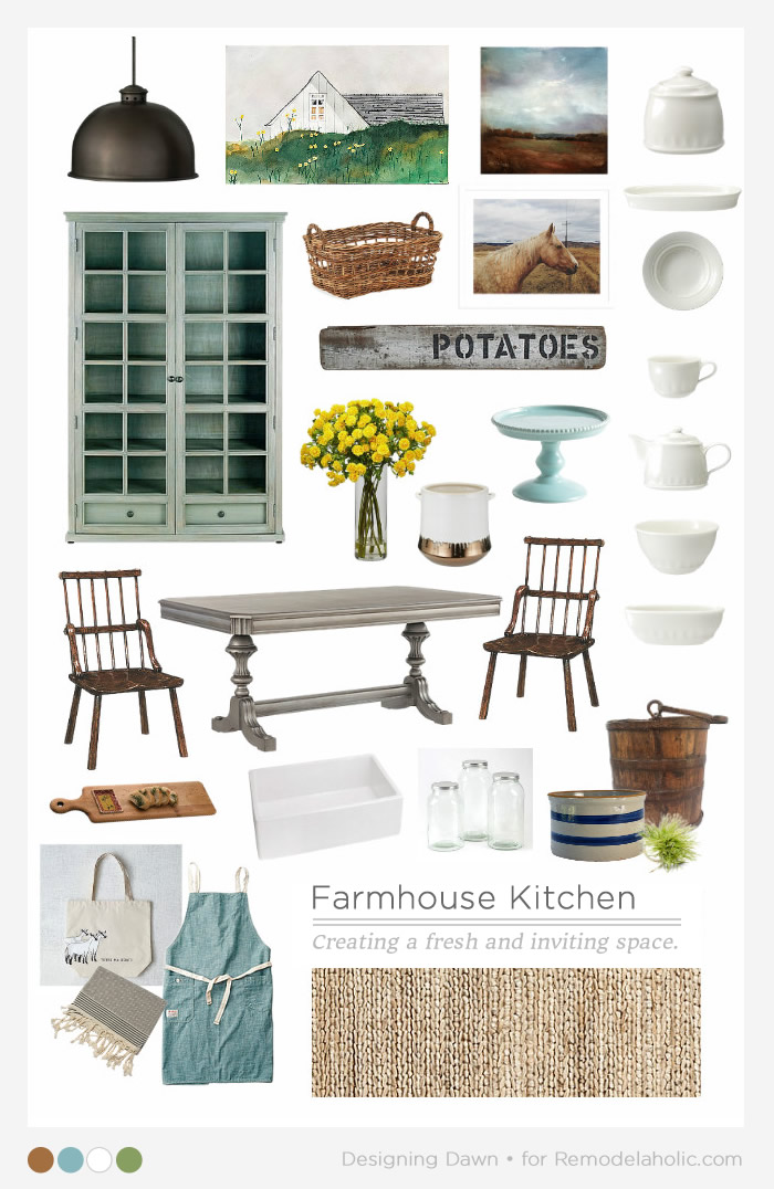 Farmhouse Kitchen MB - Designing Dawn for Remodelaholic.com