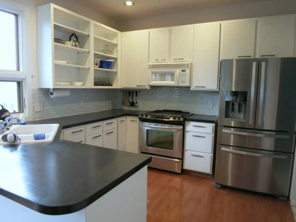Lauren DIY painted kitchen countertops review