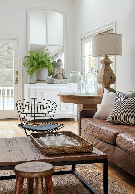 Decorating with Neutrals: beautiful neutral living room