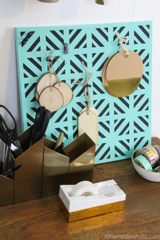 Super Easy DIY Wrapping Paper Center @remodelaholic (15 of 20)