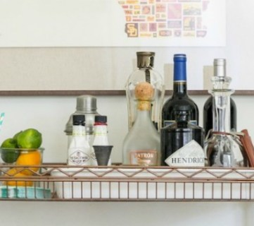 25 DIY Bar Carts and Accessories