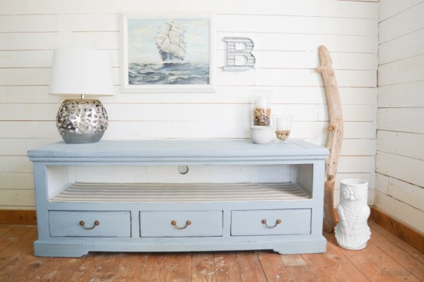Beach Inspired Media Console