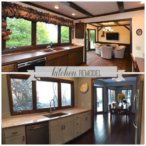 beautiful kitchen remodel, construction2style on @Remodelaholic