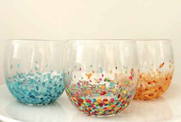 confetti tumblers