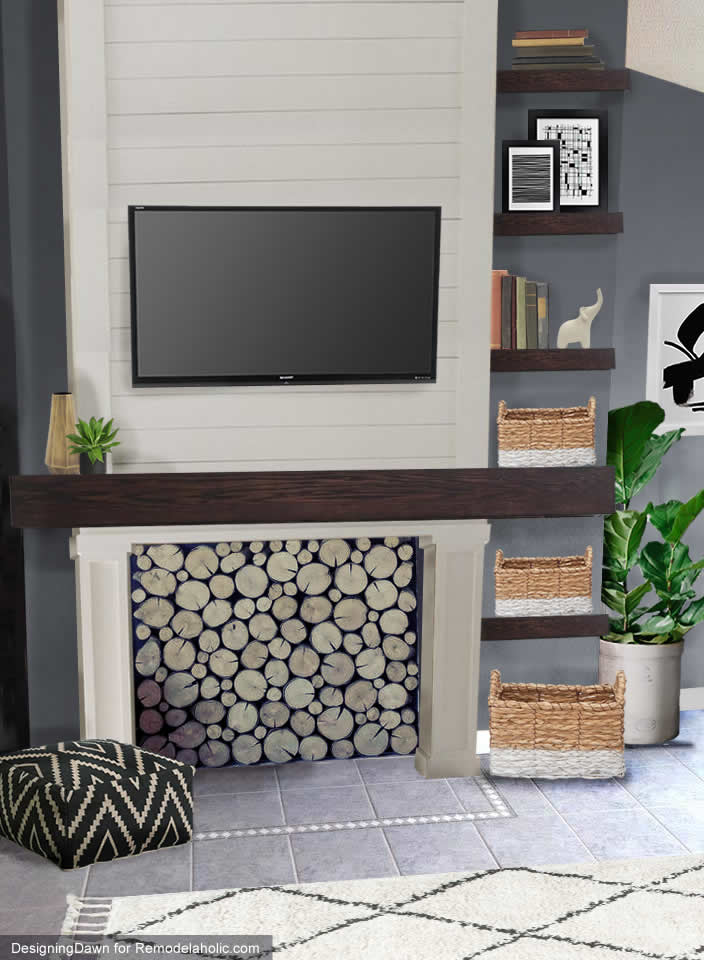 What would you do with... Catherine's non-functional Fireplace?
