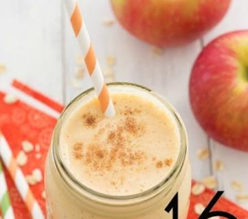 Pumpkin-Apple Breakfast Smoothie