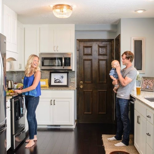 kitchen renovation, construction2style on @Remodelaholic