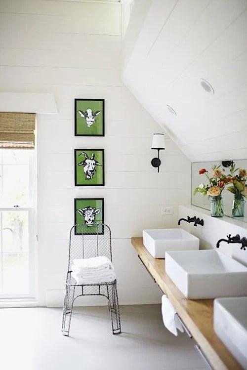 Remodelaholic | A Modern Farmhouse Kitchen on Modern Farmhouse Bathroom  id=97669