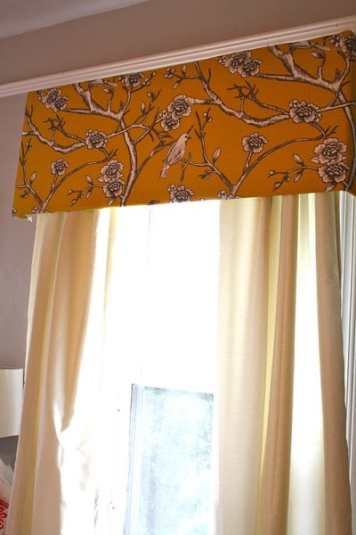 pelmet box fabric core board white curtains