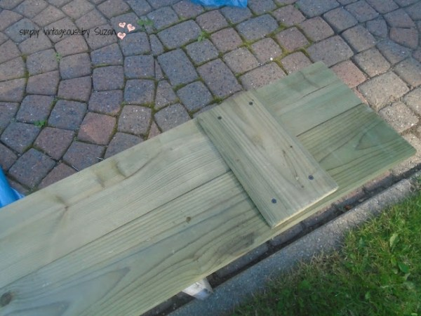 wood shutters from fence posts Simply Vintageous