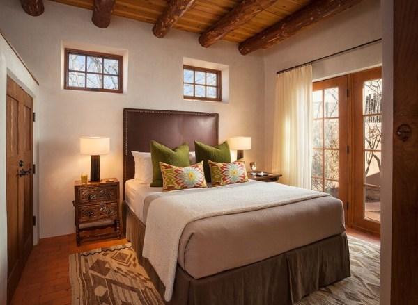 neutral modern Southwest bedroom by Violante & Rochford Interiors, photo credit © Wendy McEahern