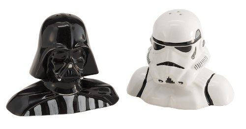 Star Wars salt and pepper shakers!