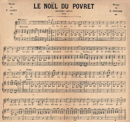 5 French Le Noel Du Povret