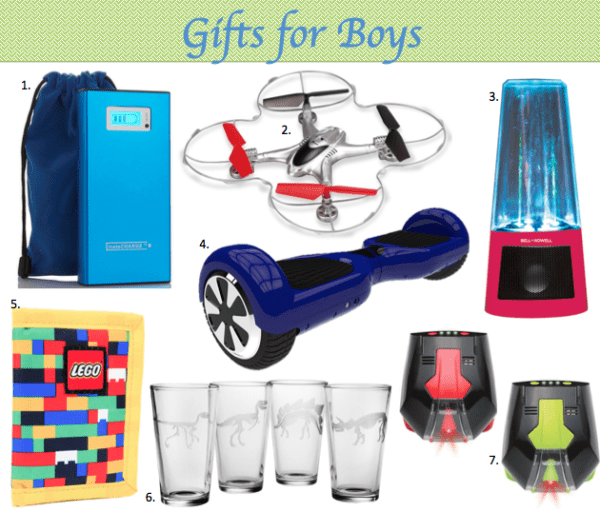 Great gift ideas for boys