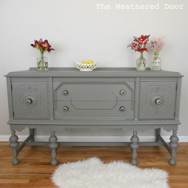 Using the same paint undertone throughout a whole home including furniture revamps. Remodelaholic.
