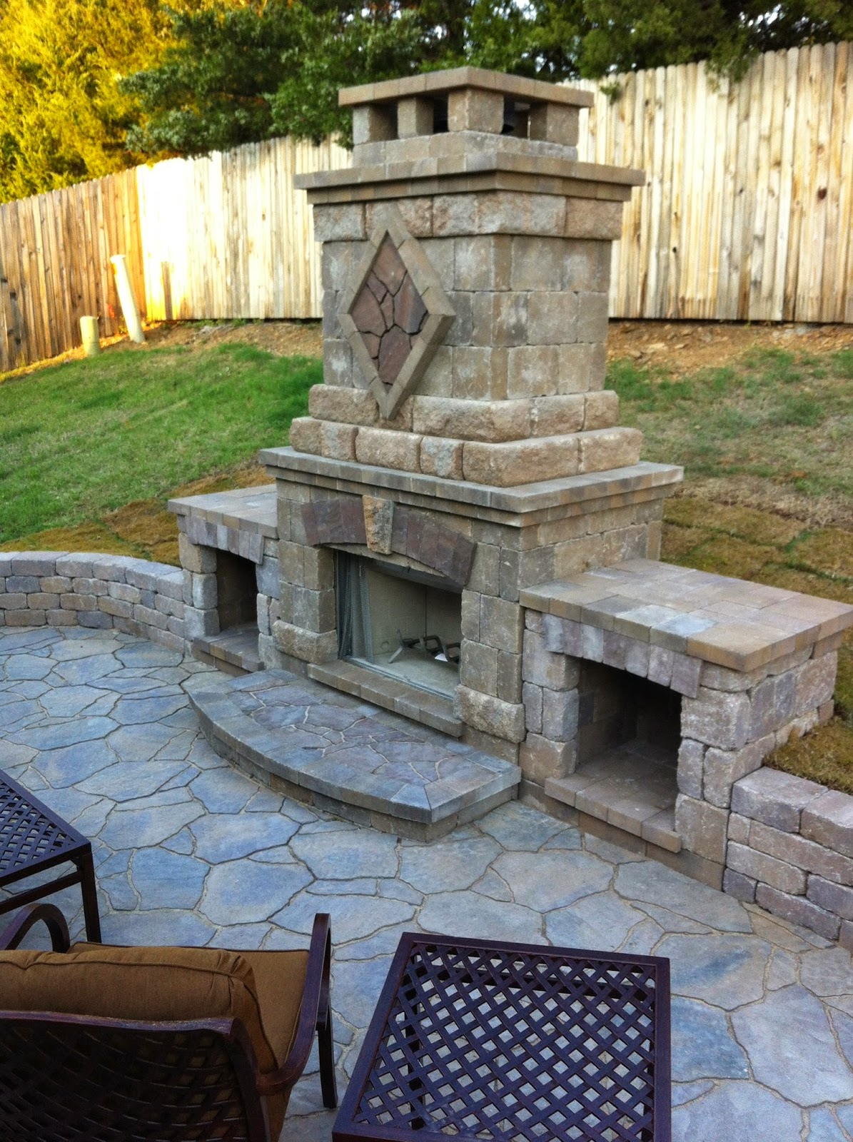 Remodelaholic | How to Install a Shiplap Wall + Rustic ... on Amazing Outdoor Fireplaces  id=53187
