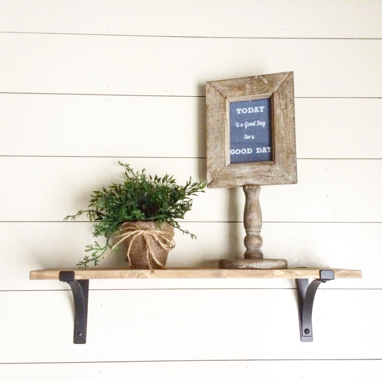 Amazing Foyer Love The Dark And White Wood Together: How To Install A Shiplap Wall + Rustic