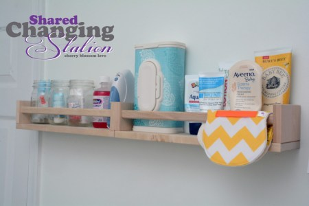 bekvam spice rack diaper changing station
