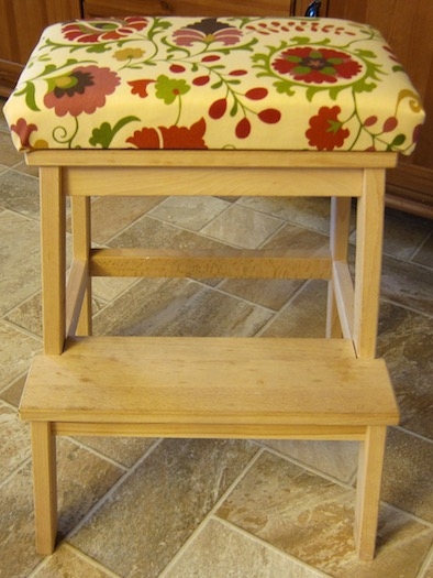 Toddler Step Stool Chair