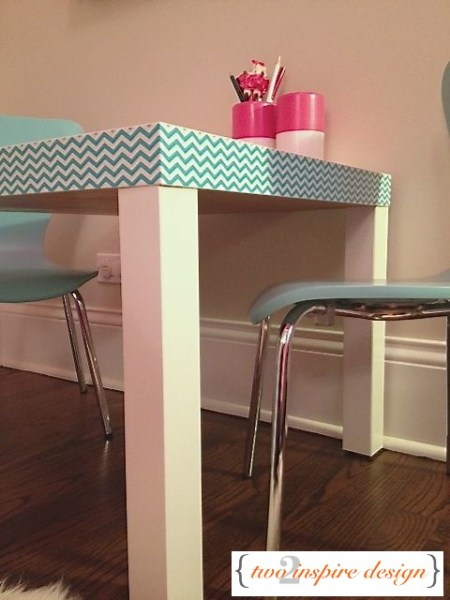 lack side table hack duct tape