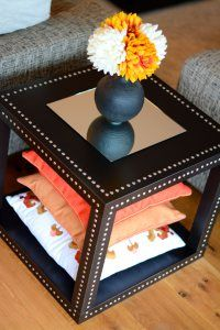 lack side table hack nail heads