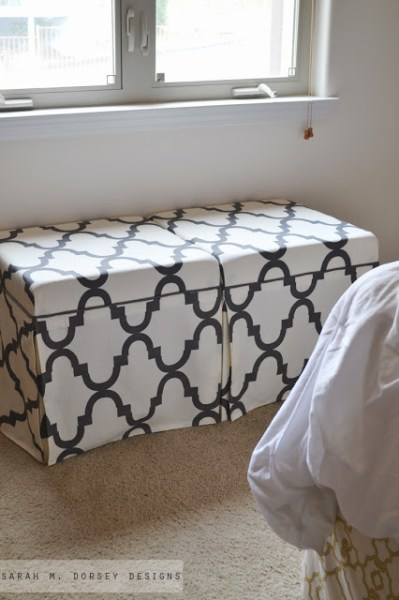 lack side table hack upholstered skirted ottomans