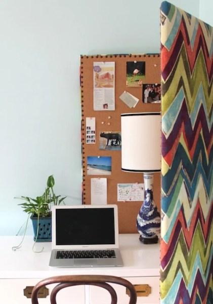 room divider fabric bulletin board
