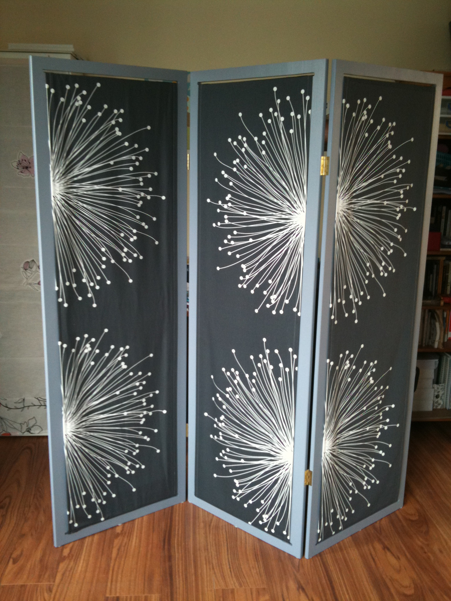 Fabric Room Dividers Apartment Therapy