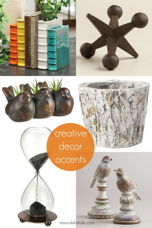 Creative Decor Accents @Remodelaholic