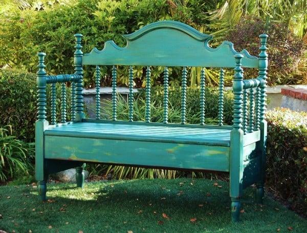 headboard bench - sougi