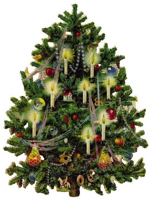printable vintage Christmas images