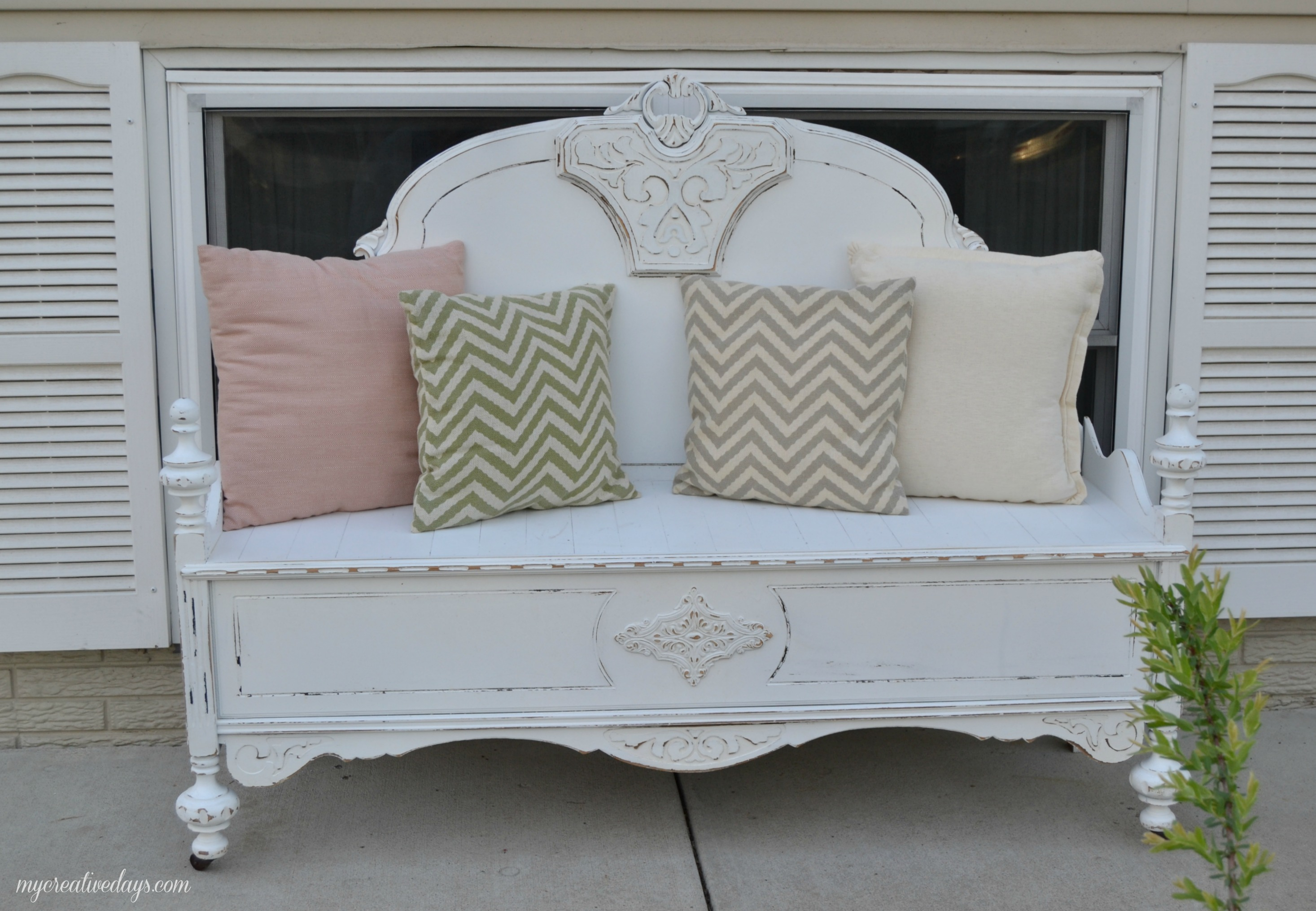 headboard benches how